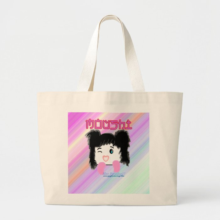 """Moushi"" Cartoon Tote Bag"