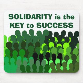 Mouspad de la solidaridad tapete de ratones