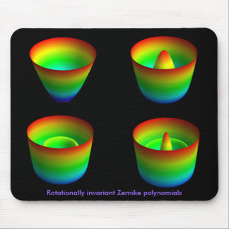 Mouspad:rotationally invariant Zernike polynomials Mouse Pad