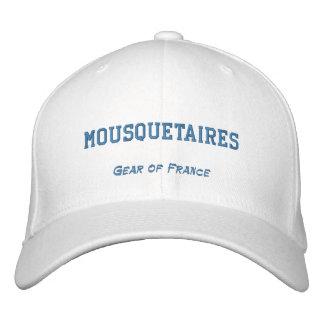 MOUSQUETAIRES, engranaje de Francia Gorros Bordados