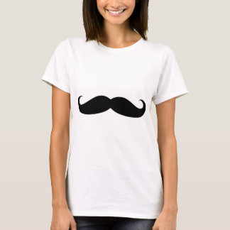 moustach divertido playera