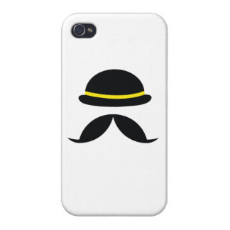 moustache and ha case for iPhone 4