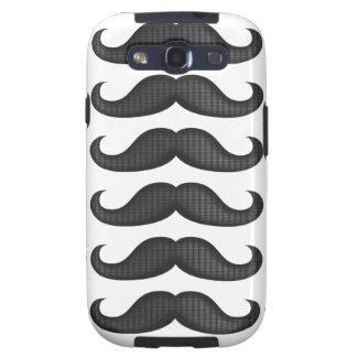 Moustache - Black Samsung Galaxy S3 Cases