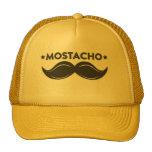 Moustache cap trucker hat