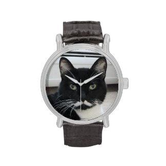 Moustache Cat Watch