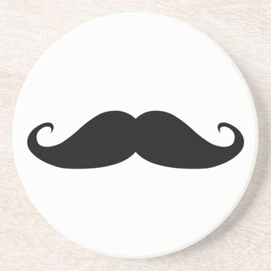 Moustache coasters! drink coaster