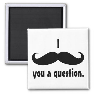 Moustache disguise funny mustache facial hair magnet