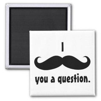 Moustache disguise funny mustache facial hair fridge magnet