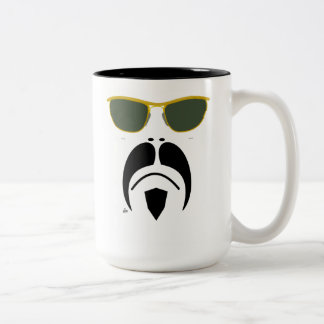 Moustache Easy Rider II Style Sunglasses Mug