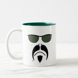 Moustache Easy Rider Style Sunglasses Mug