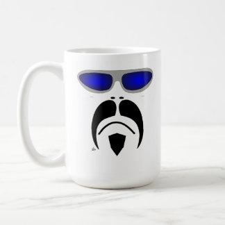 Moustache Ferris Bueller Style Sunglasses Mug
