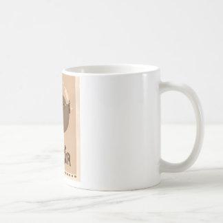 Moustache Fish - Drink Like a Sir Coffee Mug