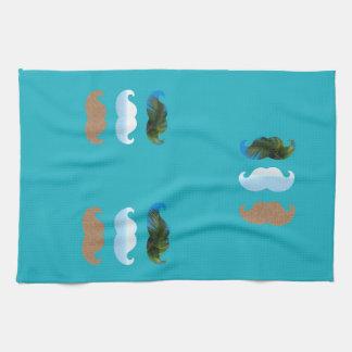 Moustache.. Life's A Beach! Hand Towel