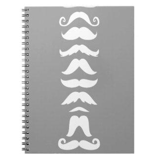 Moustache Line Up Journals