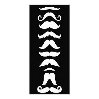Moustache Line Up Rack Cards