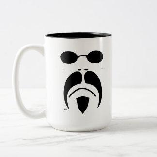 Moustache Matrix Style Sunglasses Mug