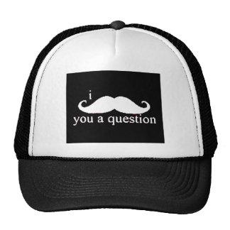 Moustache Mesh Hats
