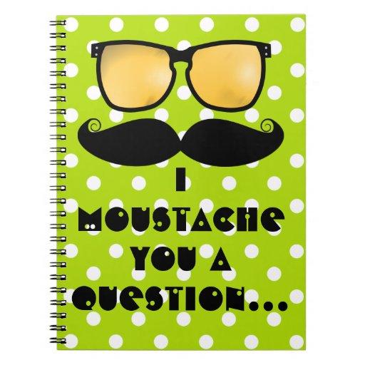 Moustache Notebook