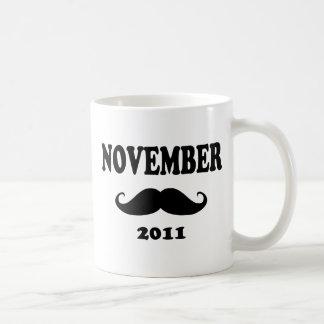 Moustache November 2011 Coffee Mug