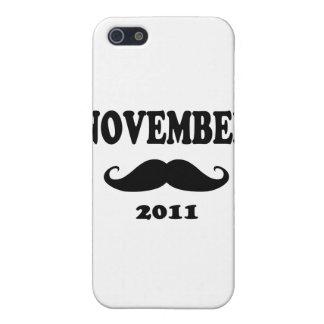 Moustache November 2011 iPhone 5 Case