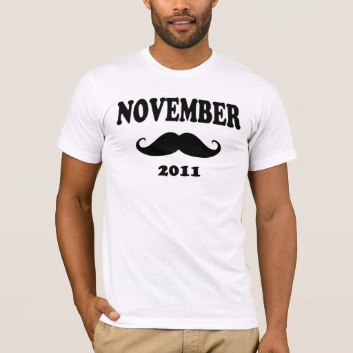 Moustache November 2011 T-Shirt