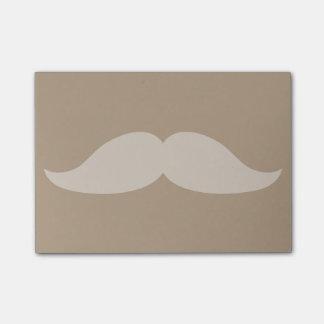 Moustache Post-it Notes