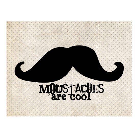 Moustache Postcard