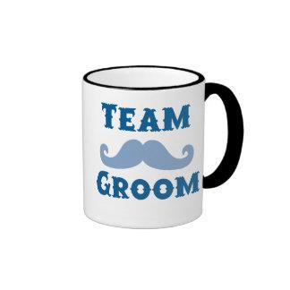Moustache Team Groom Mug