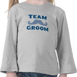 team groom kids t-shirt