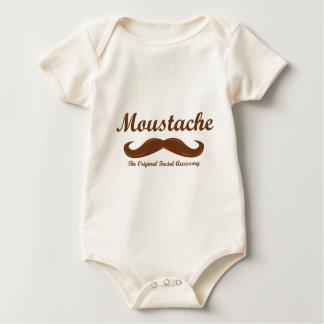 Moustache - The Original Facial Accessory Baby Bodysuit