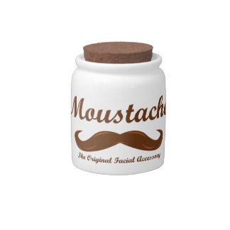 Moustache - The Original Facial Accessory Candy Jars