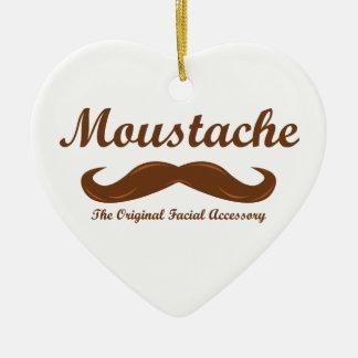 Moustache - The Original Facial Accessory Ceramic Ornament