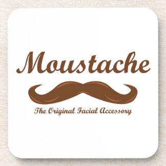 Moustache - The Original Facial Accessory Coaster