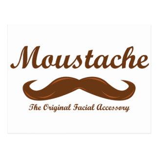 Moustache - The Original Facial Accessory Postcard