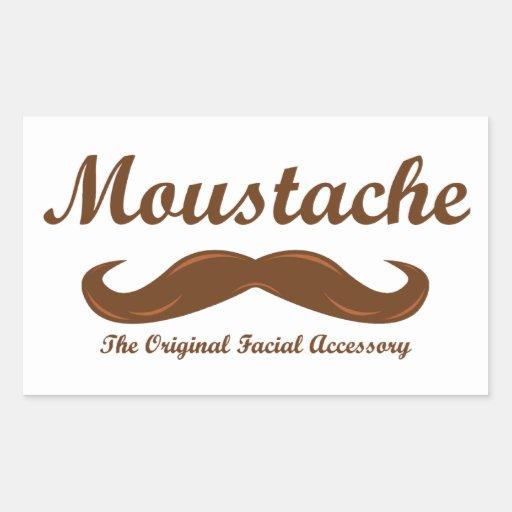 Moustache - The Original Facial Accessory Sticker
