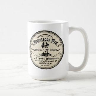 Moustache Wax Advertisement Mug