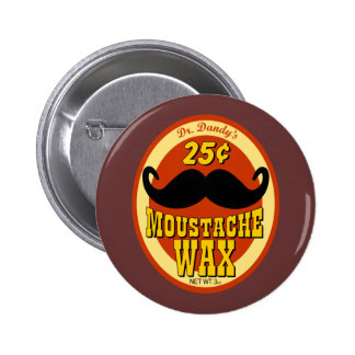 Moustache Wax del Dr. Dandy's Pin Redondo 5 Cm