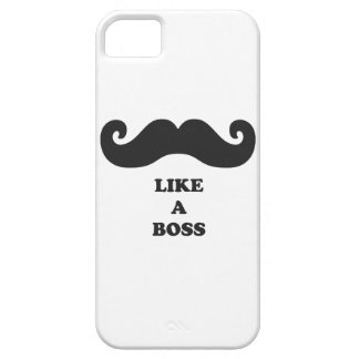 Moustache your iPhone 5 like a BOSS iPhone SE/5/5s Case