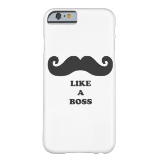 Moustache your iPhone 6 case like a BOSS iPhone 6 Case