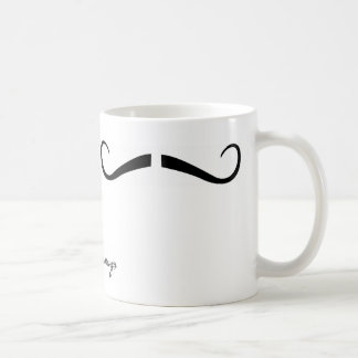moustachemugs Type 12 (Two in One) Coffee Mug