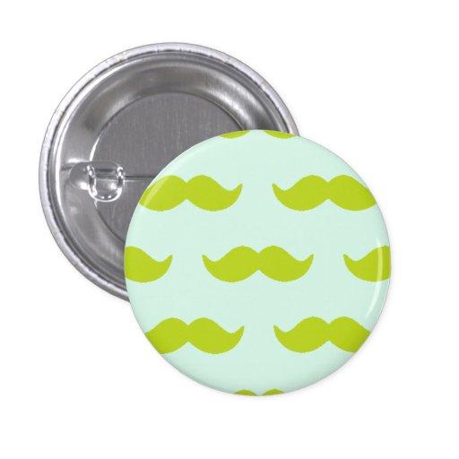 Moustaches! Buttons