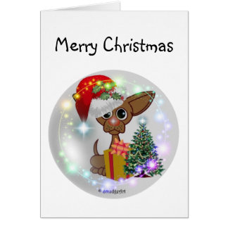 Mousy Dog Greeting Card