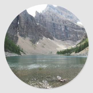 Moutain and Lake View Stickers