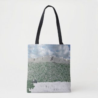 Moutain Home Tote Bag