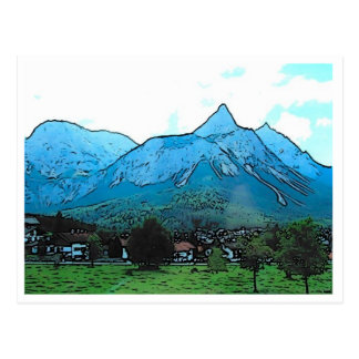 Moutain Postcard