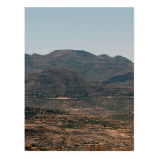 Moutains in Northern Ethiopia Postcard