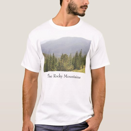 Moutains, The Rocky Mountains T-Shirt
