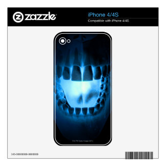 Mouth Area iPhone 4 Decal