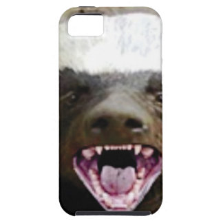 mouth bite honey badger iPhone SE/5/5s case