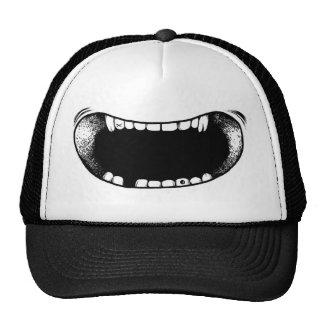Mouth Cap Trucker Hat